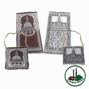 Harga sajadah rajut katun alayka plus tas   HARGALOKA.COM