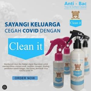 Harga clean it desinfektan mainan anak amp pembersih virus | HARGALOKA.COM