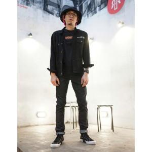 Harga 313 celana panjang jeans pria selvedge slim fit raw sanforized 14 oz   | HARGALOKA.COM