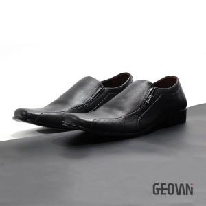 Harga sepatu pantofel pria formal kulit asli geovani s   hitam g07   | HARGALOKA.COM