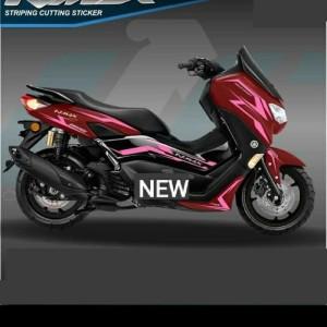 Harga striping cutting sticker new nmax 2020 motor merah | HARGALOKA.COM