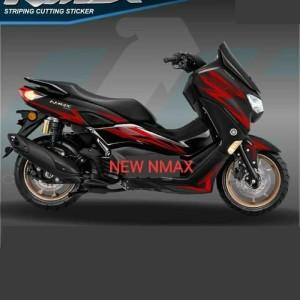 Harga striping cutting sticker nmax new 2020 motor hitam | HARGALOKA.COM