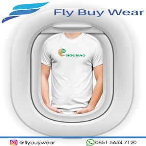 Harga baju kaos t shirt penerbangan bouraq air maskapai airlines indonesia   putih | HARGALOKA.COM