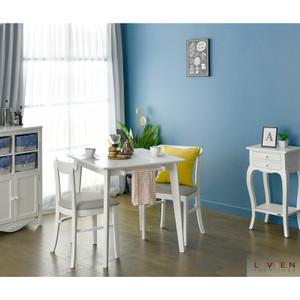 Harga meja makan minimalis set murah nora 750 livien furniture free ongkir     HARGALOKA.COM