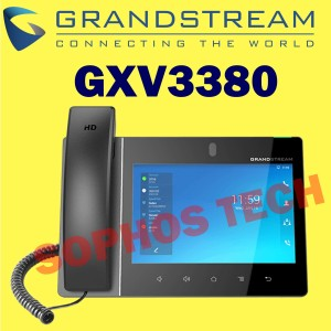 Harga ip video phone high end smart grandstream gxv3380 for android   | HARGALOKA.COM