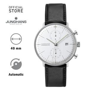 Harga junghans max bill chronoscope 027 4600 jam tangan silver putih   HARGALOKA.COM