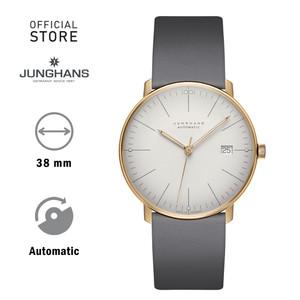 Harga junghans max bill automatic 027 7805 jam tangan auto gold abu2   HARGALOKA.COM