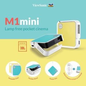 Harga projector portable viewsonic m1 mini jbl   HARGALOKA.COM