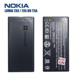 Harga baterai original nokia bv t5a lumia 730 735 738 | HARGALOKA.COM