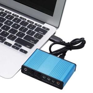Harga sound card external 5 1 suround usb untuk laptop pc   cm6206   | HARGALOKA.COM