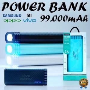 Harga powerbank power bank led emergency lampu 99000mah 2 usb   HARGALOKA.COM