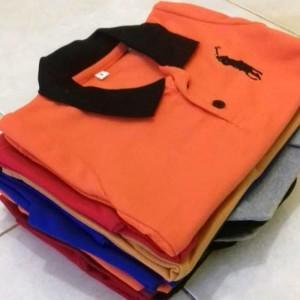 Harga grosir baju polo kerah anak murah size mix 456 unisex konveksi   mix size 4 5 6   HARGALOKA.COM