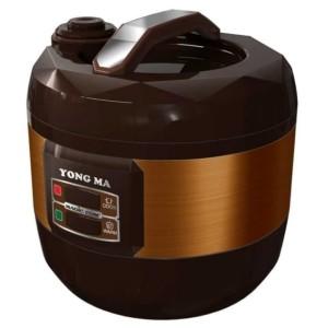 Harga rice cooker magic com yong ma 2 5 liter smc 4033 warna coklay amp | HARGALOKA.COM