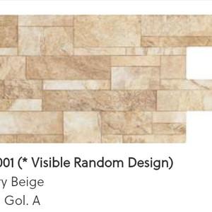 Harga keramik dinding roman interlock dquarry beige ukuran 30x60 kw | HARGALOKA.COM