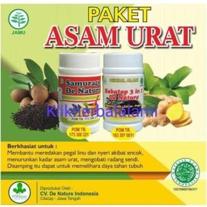 Harga obat asam urat herbal alami asli de nature paling   HARGALOKA.COM