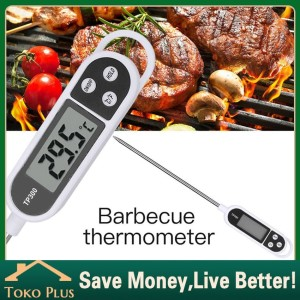 Harga termometer digital pengukur suhu makanan bbq minuman food | HARGALOKA.COM