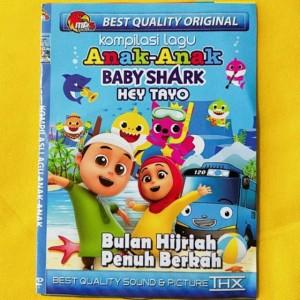Harga kaset video kompilasi lagu anak anak baby shark hey tayo bulan | HARGALOKA.COM