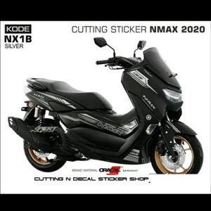 Harga striping cutting sticker new nmax 2020 motor black sticker | HARGALOKA.COM