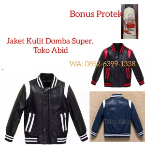 Harga jaket kulit domba super asli garut jaket kulit motor model terbaru   merah   HARGALOKA.COM