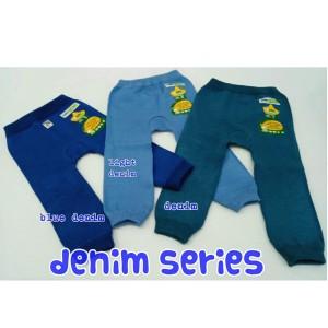 Harga legging bayi polos baby grab katalog warna denim   size m blue   HARGALOKA.COM