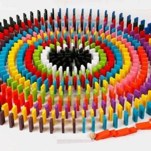 Harga mainan edukasi balok domino 120   HARGALOKA.COM