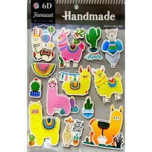 Harga gambar tempel sticker stiker anak timbul 3d besar karakter domba   HARGALOKA.COM