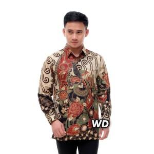 Harga baju batik pria songket terbaru baju adat terlaris kemeja batik | HARGALOKA.COM