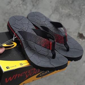 Harga sandal connec toraja berkualitas original sendal gunung outdoor indoor   black red | HARGALOKA.COM
