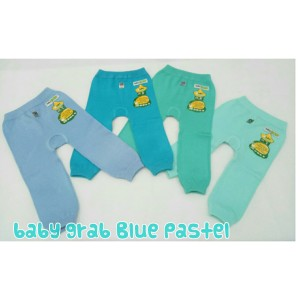 Harga legging polos bayi warna biru pastel 34 baby grab 34   size s sky   HARGALOKA.COM