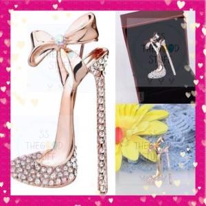 Harga pin bross motif high heels premium quality best seller | HARGALOKA.COM