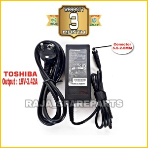Harga adaptor charger original laptop toshiba satellite l510 l740 l745 | HARGALOKA.COM