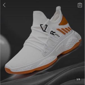 Harga sneakers sepatu pria navara esteemist dim black  sneaker pria slipon   putih   HARGALOKA.COM