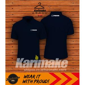 Harga polo shirt kaos polo mazda logo kaos otomotif   | HARGALOKA.COM
