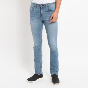Harga papperdine 711 l indigo slim fit celana panjang jeans pria selvedge   | HARGALOKA.COM
