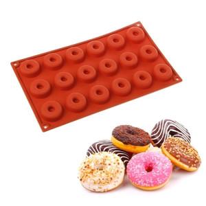 Harga cetakan silikon donat mini donut 18 cavity biskuit muffin cake | HARGALOKA.COM