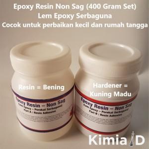 Harga epoxy resin non sag   400 gr   lem epoxy resin   lem | HARGALOKA.COM