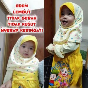 Harga baju muslim gamis anak perempuan 1 6 tahun hijab   | HARGALOKA.COM