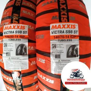 Harga paket ban aerox maxxis victra 100 80 amp 140 70 14 bonus | HARGALOKA.COM