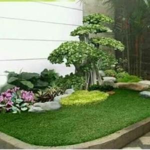 Harga jasa taman amp decorasi rumah kantor rumput gajah mini golf meter | HARGALOKA.COM