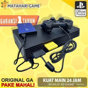 Harga best produk ps2 playstation 2 hdd 40gb full games garansii 1 | HARGALOKA.COM