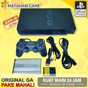 Harga ps2 paket full   sony playstation fat hd 60gb 2 stik garansi 1 | HARGALOKA.COM