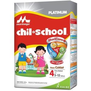 Harga morinaga chil school susu platinum 4 moricare cokelat   HARGALOKA.COM
