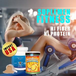 Harga suplemen fitness maximum protein nutriburst mass gainer import   HARGALOKA.COM