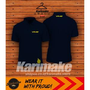 Harga polo shirt kaos polo valentino rossi vr46 kaos otomotif   | HARGALOKA.COM