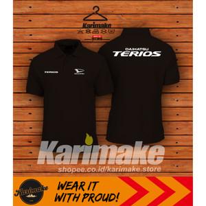 Harga polo shirt kaos polo daihatsu terios kaos otomotif   | HARGALOKA.COM