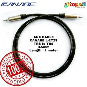 Harga kabel aux canare japan original 1 m kabel hp laptop mixer speaker | HARGALOKA.COM