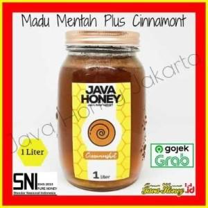 Harga madu mentah bubuk kayu manis 1 l rawhoney cinnamonshot java | HARGALOKA.COM