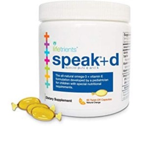 Harga speak d lifetrients 70 caps omega 3 suplement anak speech | HARGALOKA.COM