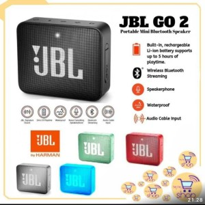 Harga speaker jbl go 2 portable mini bluetooth   | HARGALOKA.COM