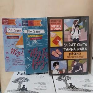 Harga novel paket 3   my ice boy   my ice girl   surat cinta tanpa | HARGALOKA.COM